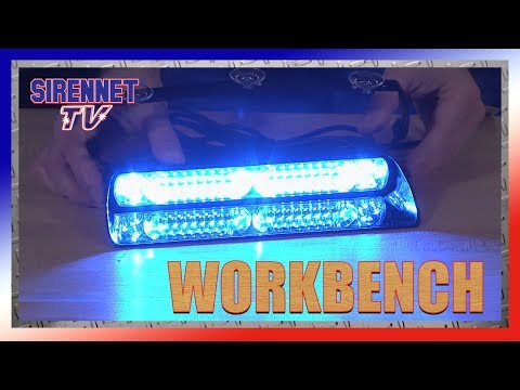 Whelen Avenger II SOLO Combo Linear/TIR Dual LED Dash/Deck Light