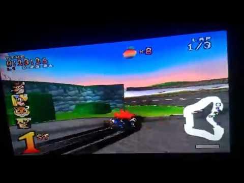 Crash Team Racing (PS1) Part 6 - Coco Park (Trophy Race)