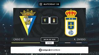 Cádiz CF Real Oviedo MD38 S2145