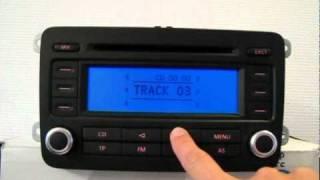 Volkswagen Radio RCD300 code en basics beheren - Instellingen RCD300(, 2010-09-20T18:55:52.000Z)