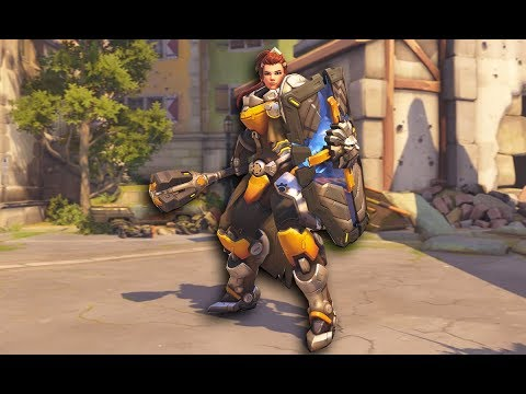 A NEW Overwatch Hero Brigitte is Live! Let's Test her out.