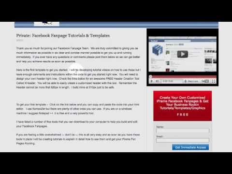 Free Iframe Templates Tutorial 1 Ing Customizing W Video Autoresponders