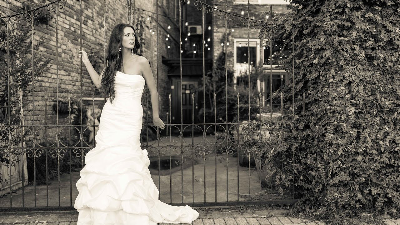 Downtown Bridals with Pensacola Wedding Photographer - YouTube