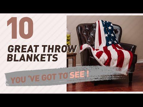 Flag Throw Blankets // New & Popular 2017