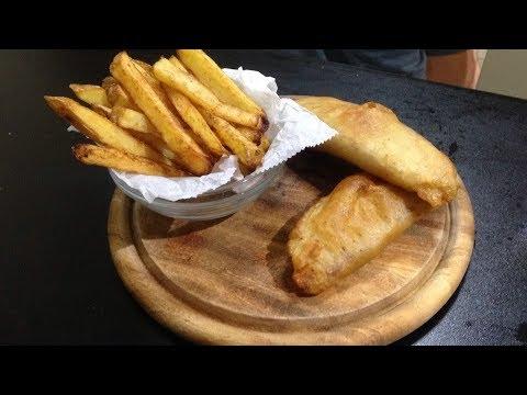 איך להכין פיש אנד ציפס - דג ותפוחי אדמה