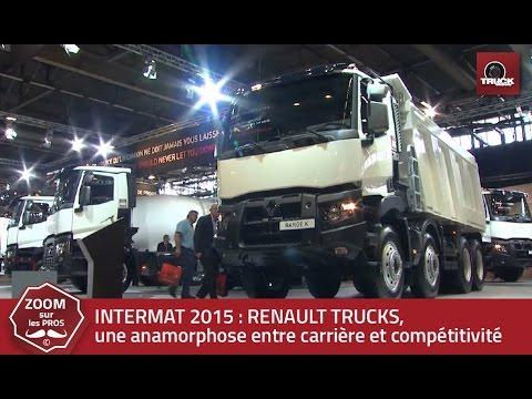 INTERMAT 2015 : RENAULT TRUCKS communique avec une offre polyvalente