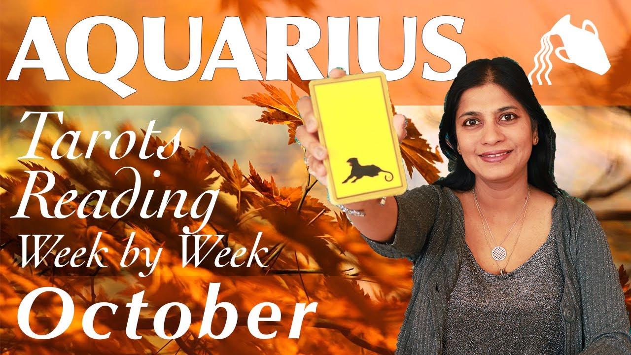 aquarius october 2019 tarot horoscope