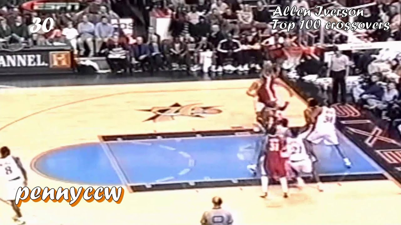 The Ultimate Allen Iverson Top 100 Crossover