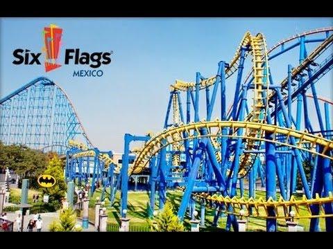 Los Mejores Juegos De Six Flags Mexico 2015 Youtube