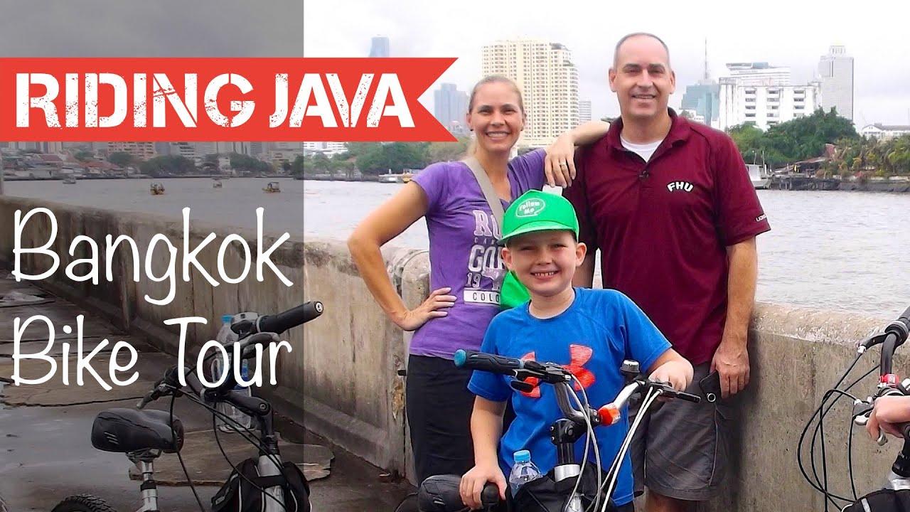 Taking a Bangkok Bike Tour with Follow Me Bike Tours | Things to do in Bangkok - YouTube