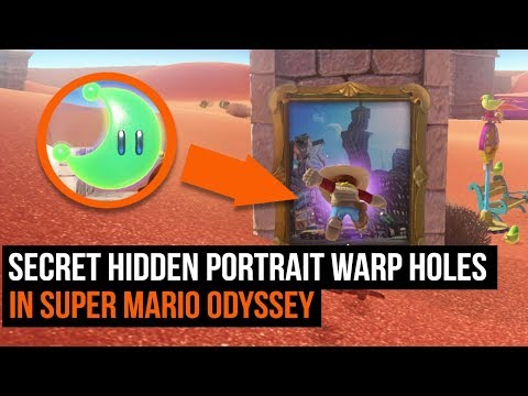 Where to find all the hidden portraits in Super Mario Odyssey