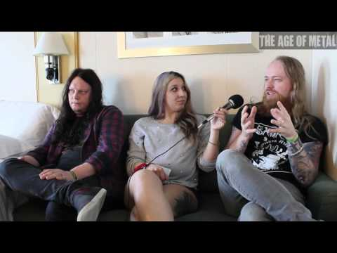 Anders Nystrom and Jonas Renkse of Bloodbath and Katatonia discussed 70000 Tons of Metal