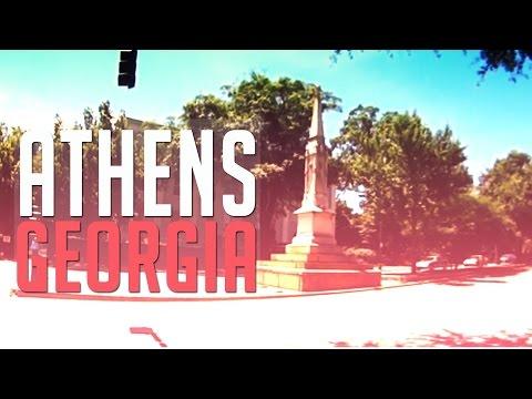 Visiting Athens, Georgia
