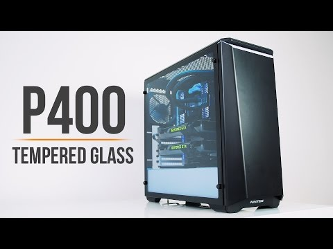 Phanteks P400 Tempered Glass... The Best Glass Case for $89!