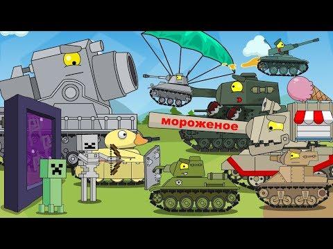 TOP 15  - Cartoons about tanks