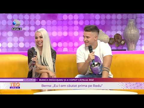 Download Teo Show (07.09.2021) - Iubitul Radu o ajuta pe Berna sa scape de teroarea fostului?