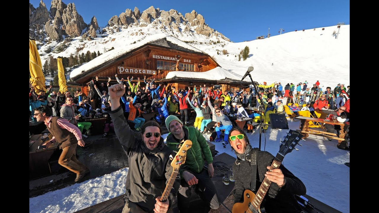 Rock the dolomites - winter music festival in val gardena | gr�den