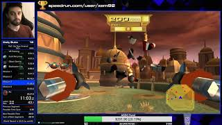 [World Record] Ratchet and Clank: Up Your Arsenal NG+ Speedrun in 29:23