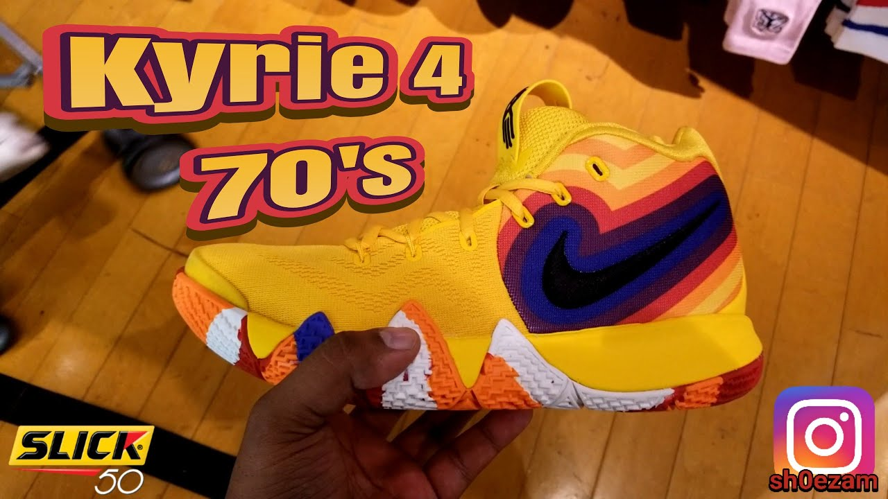 Quick look  Kyrie 4 70 s these are nice! - YouTube e5ec4af44
