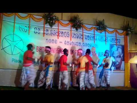 Santali Dance at Charampa,Bhadrak on Guru...