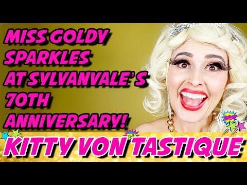 MISS GOLDY SPARKLES SYLVANVALE CHARITY FUNDRAISER   KITTY VON TASTIQUE