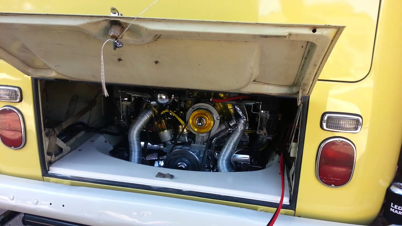 1970 Vw Bus >> 1970 VW Bus Type-2 GEX Engine First Start - YouTube