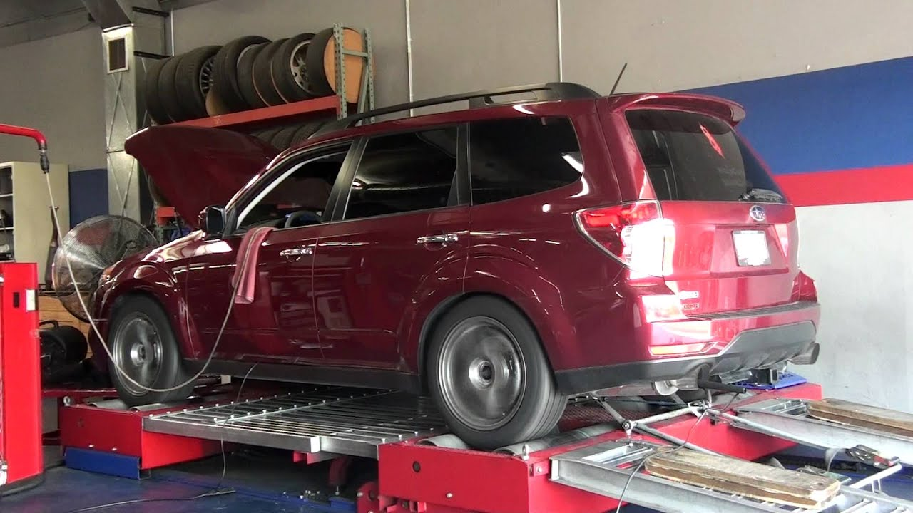 Brembo Brake Kit >> Dyno-Comp Tuned 2010 Subaru Forester XT Stage-4 - YouTube