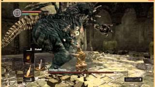 dark souls asylum demon first encounter kill with broken sword challenge