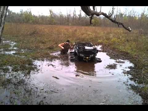 Making a duck pond in overgrown swamp with j wheelz youtube for Making a pond
