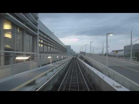 Glass Elevators and Rail System at Minnesota St. Paul Airport, MSP