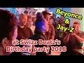 Beyoncé & JAY-Z attending Swizz Beatz's birthday party 2018