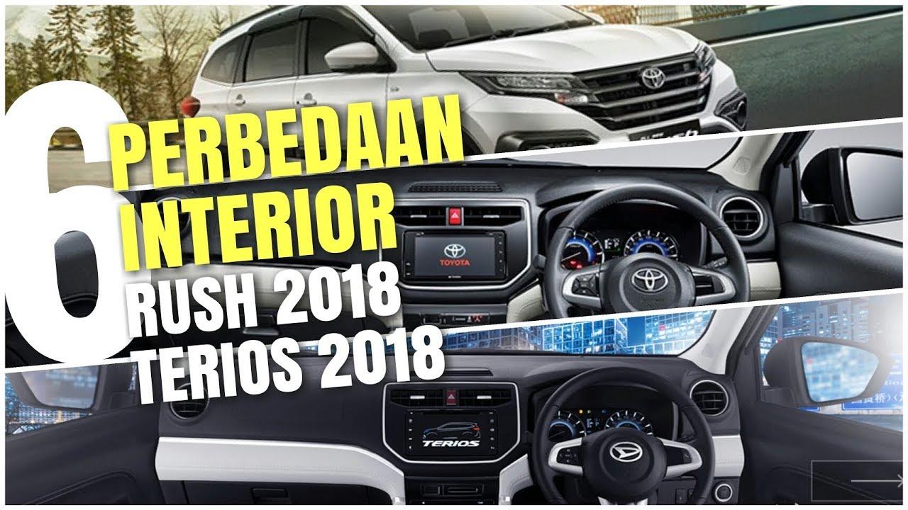6 perbedaan interior rush 2018 vs terios 2018 | interior ...