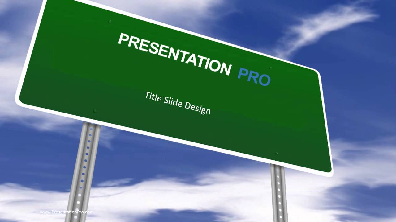 Animated template blank road sign youtube toneelgroepblik
