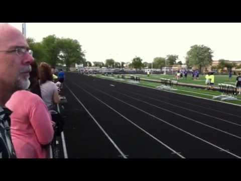 Jay Stream Middle School Track (8th Grade Girl's 800)