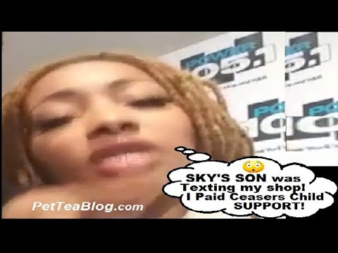 Dutchess has Text Messages from Sky Son & Paid Ceaser's Child Support $230/month #Receipts