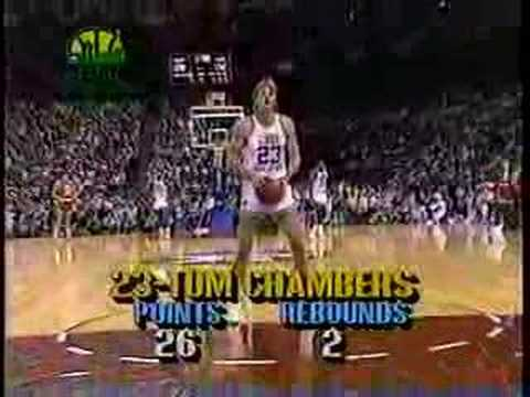 Tom Chambers  1987 NBA AllStar Game MVP