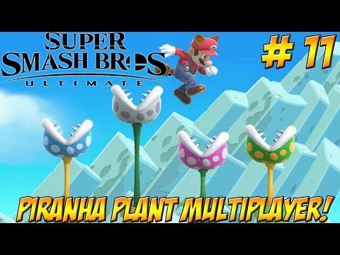 Super Smash Bros. Ultimate! Piranha Plant Multiplayer Part 11 - YoVideogames thumbnail