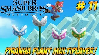 Super Smash Bros. Ultimate! Piranha Plant Multiplayer Part 11 - YoVideogames