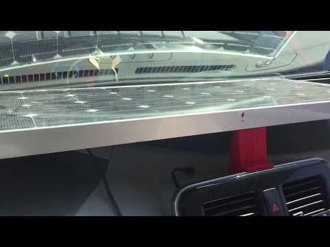 Nissan Leaf Power Radio By Solar