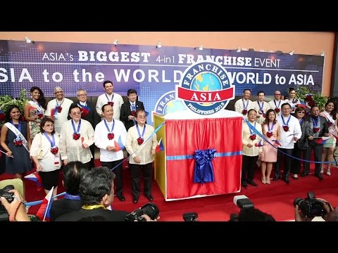 Franchise Asia Philippines 2015 Opening Ceremony (FranchiseToday.ph special coverage; @Events )