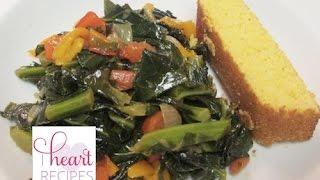 Vegetarian Collard Greens -  I Heart Recipes