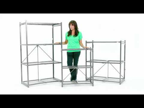 Origami Rack 20 Second Shelf Large Size Youtube