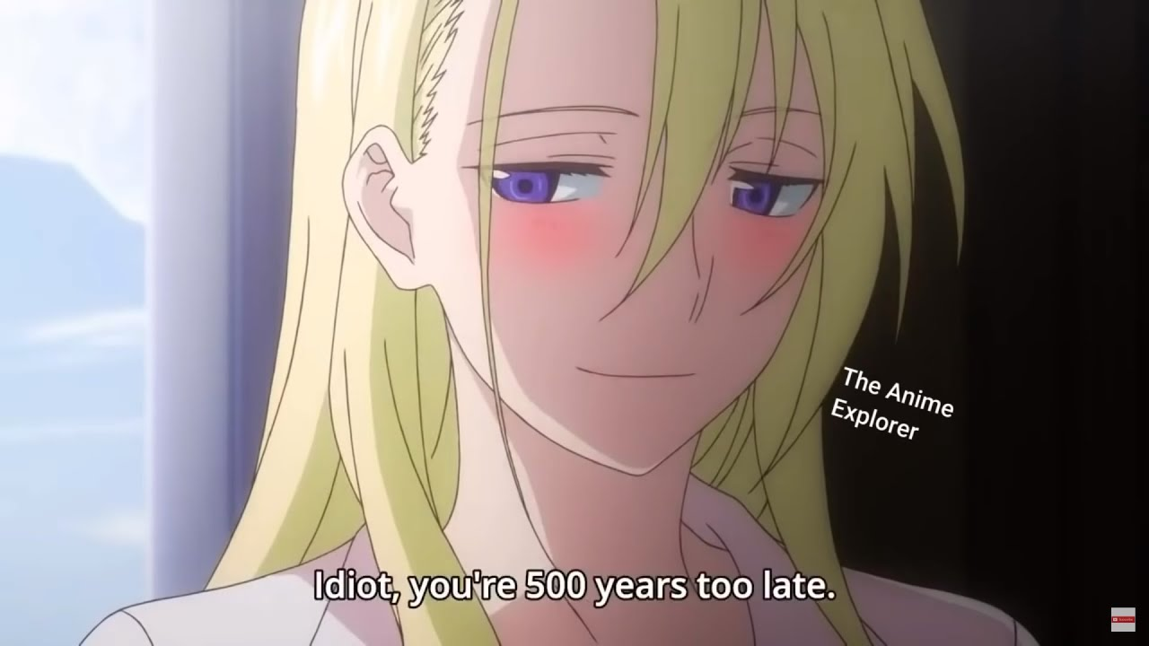 When Your Beautiful Crush is 500 Years Old