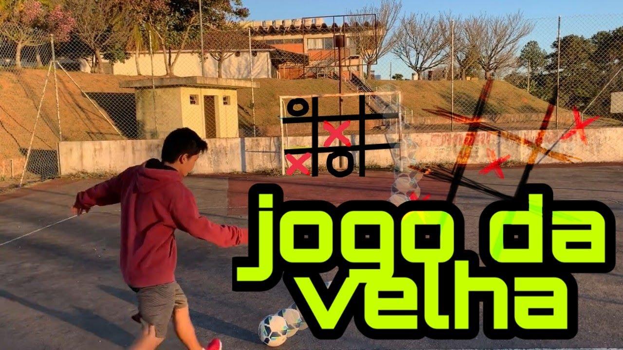 DESAFIO DO JOGO DA VELHA NO FUTEBOL (feat. kayky e marco)