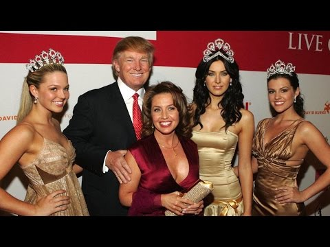 """Trump """"Inspected"""" Underage Girls In Miss Teen USA Dressing Room"""