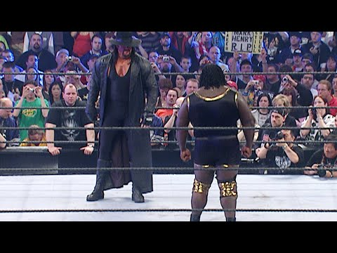 Mark Henry recalls the huge opportunity of facing The Undertaker at WrestleMania (WWE Network)