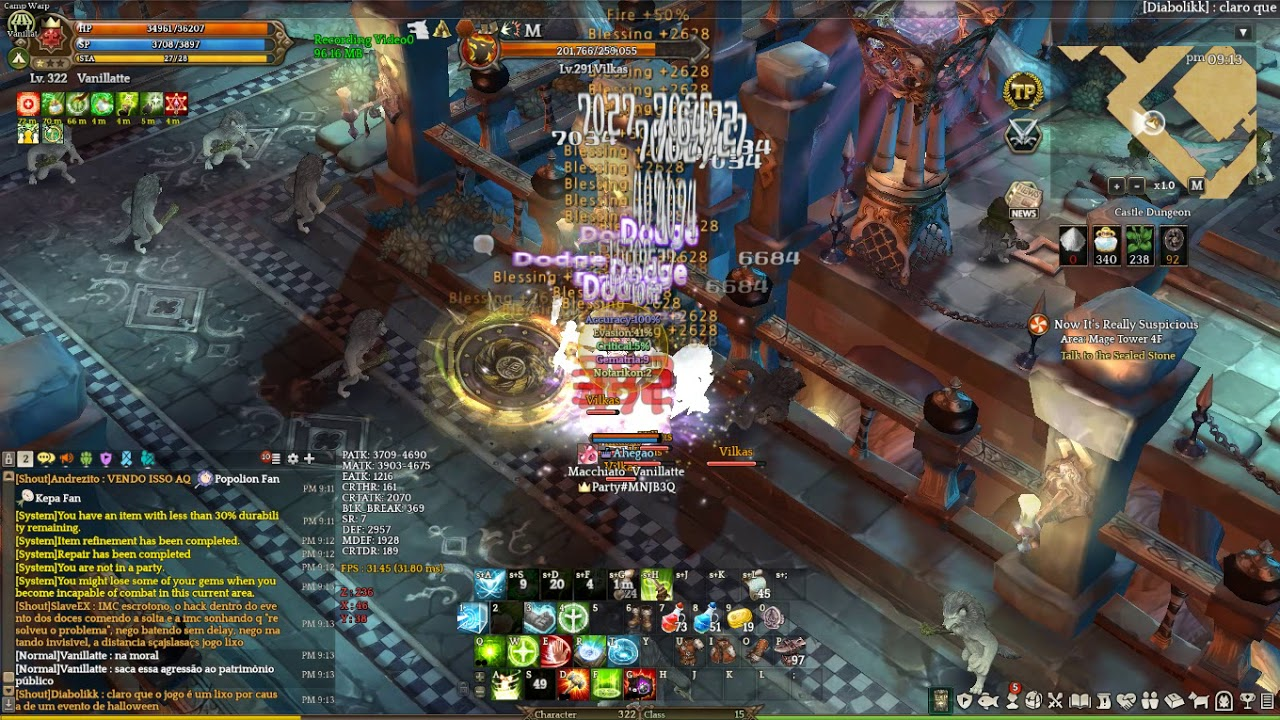 Tree of Savior new Hook64 (god mode hack)