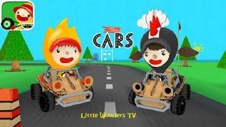 TOCA BOCA GAMES | TOCA CARS App Review | Full Game Play | App For Kids