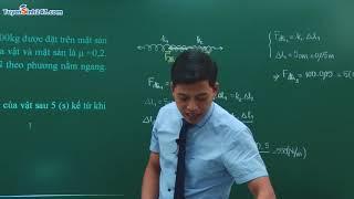 Ôn tập chương 2 : Động lực học chất điểm - Vật Lí 10 - Thầy Phạm Quốc Toản