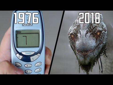 Evolution Of Snake Games 1976 - 2018